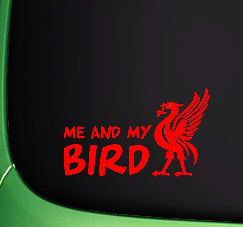 UUSticker ME and My Bird Liver Bird Liverpool CAR Sticker Wall Laptop Window