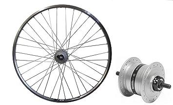 Dinamo de buje de Shimano bicicleta de la rueda delantera 71.12 cm ...