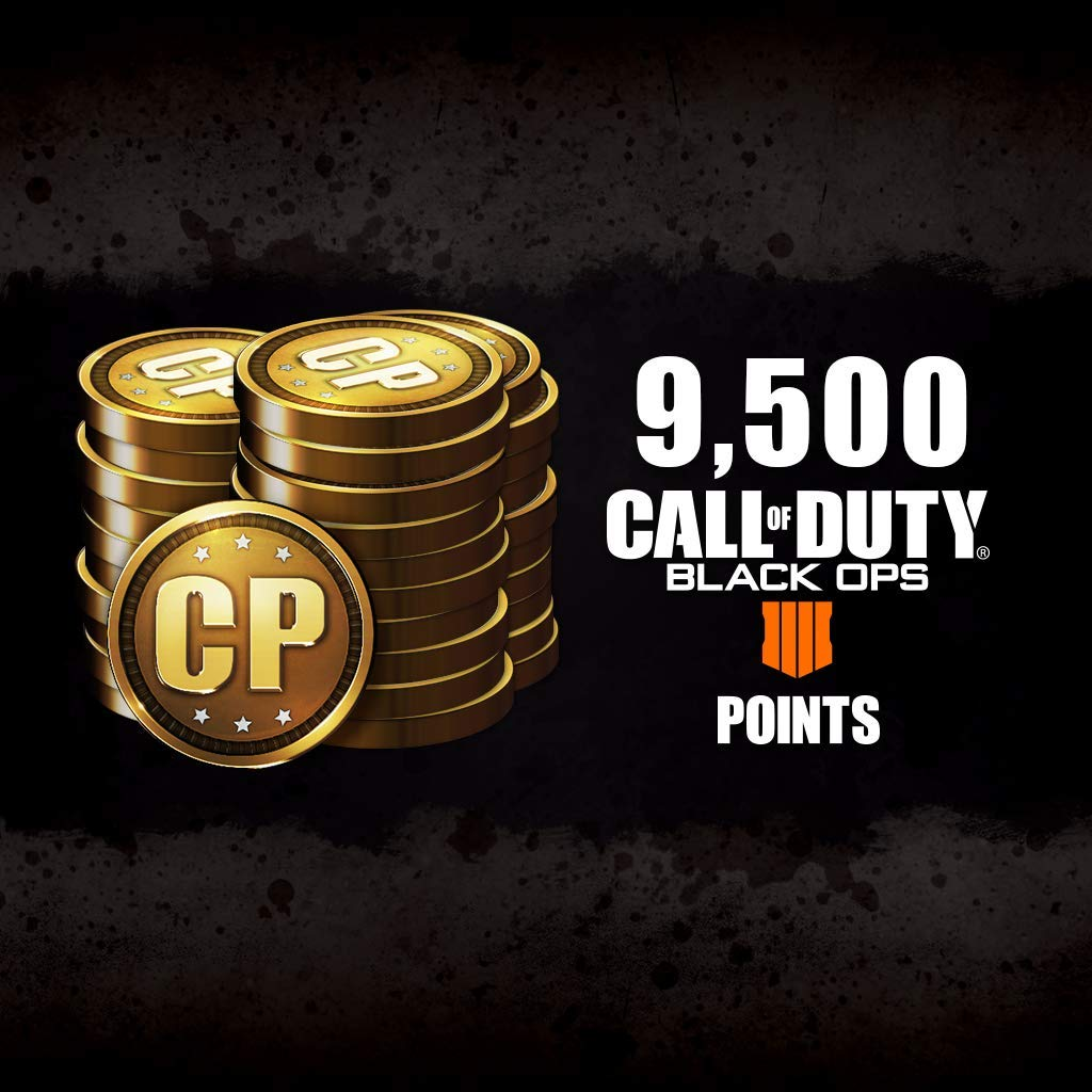 Call Of Duty: Black Ops 4 - Cod Points 9500 - PS4 [Digital Code] by Activision