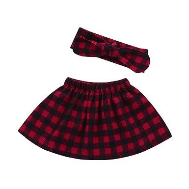 Kingwo Baby Girls Tutu Skirt Newborn Princess Dance Dress Headband