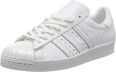 Unirse Bañera estético  Amazon.com | adidas Originals Women's ' Superstar 80S Metal Toe Trainers  US5.5 White | Track & Field & Cross Country
