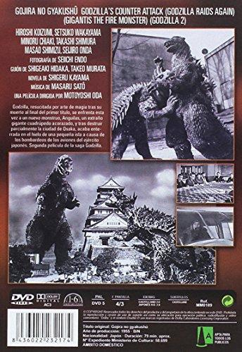 Godzilla Contraataca 1955 Godzilla's Counter Attack (Godzilla Raids Again) (Gigantis the Fire Monster) (Godzilla 2) [Non-usa Format: Pal -Import- Spain ]