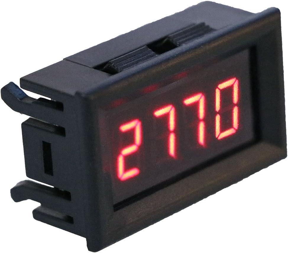 Cuigu Tachometer Tachometer f/ür die Automatische Drehzahl des Motorrads LED 2-in-1