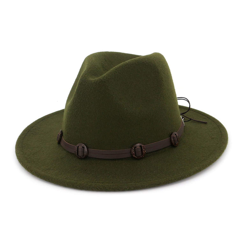 Fedora Hats for Men Women Elegant with Ribbon Vintage Trilby Felt Jazz Cap Winter Autumn Wide Brim Top Hat