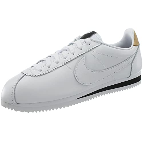 Nike Classic Cortez Leather Se, Zapatillas de Deporte Unisex Adulto, (Blanco), 47.5 EU: Amazon.es: Zapatos y complementos