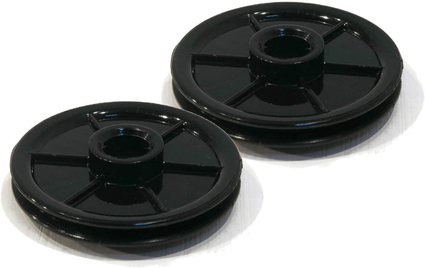 The ROP Shop | (Pack of 2) Idler Pulleys for Chamberlain Power Drive 3/4 HP 248735 Door Openers