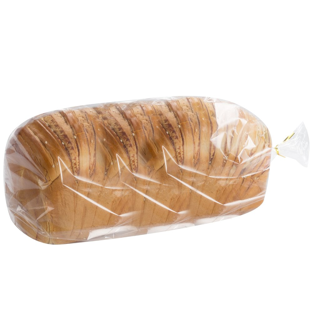 100 Count Benail Bread Loaf Bags with Free Twist Ties (100 Pack)
