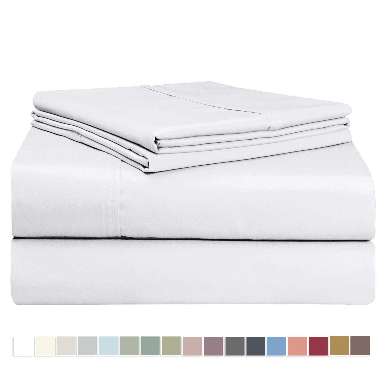 Luxury Freshly Blossom 100/% Long-staple Plush Cotton 300 TC Sheets Set