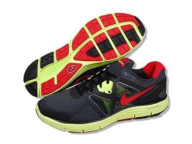 best sneakers e8ef1 af103 NIKE LunarGlide+ 3 Mens Running Shoes 7 Black