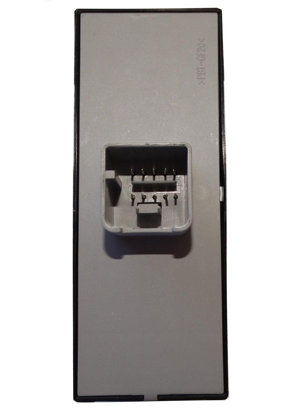 Commodo Fensterhebertaste Schalterknopf Fenster kompatibel 5ND959857 C16199 Aerzetix