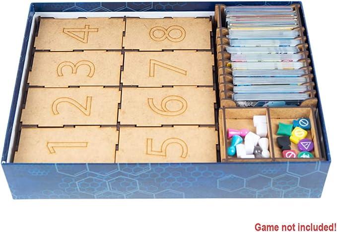 docsmagic.de Organizer Insert for Eldritch Horror Box - Encarte: Amazon.es: Juguetes y juegos