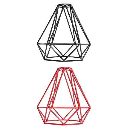 Fashlady 2 X Old Fashion Wire Diamond Pendant Lounge Ceiling Light