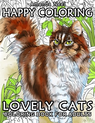 Lovely Cats - Coloring Book for Adults
