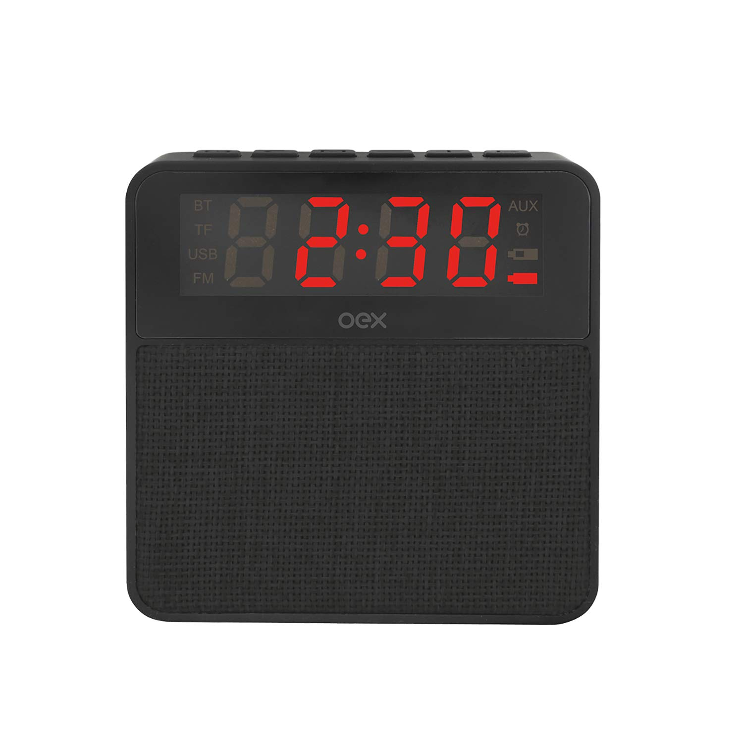 4abc10b187b CS100 Clock Speaker Wake Preto - Oex