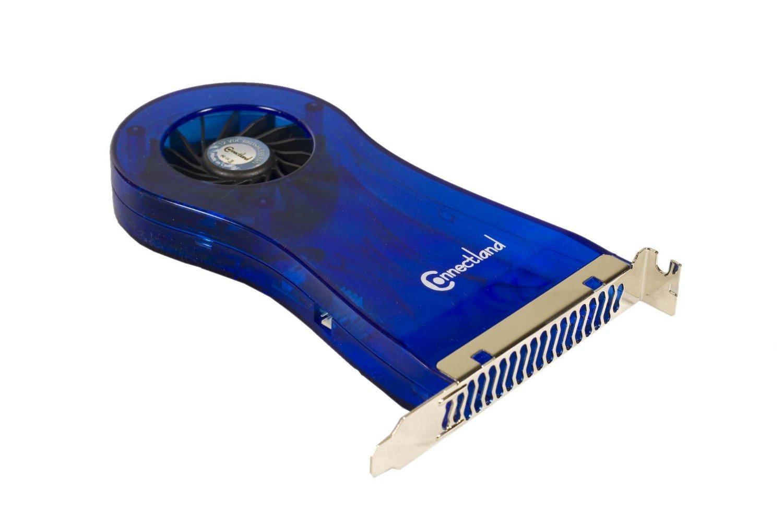 Connectland VEN-B-FAN005 - Extractor de aire para caja de ordenador: Amazon.es: Informática