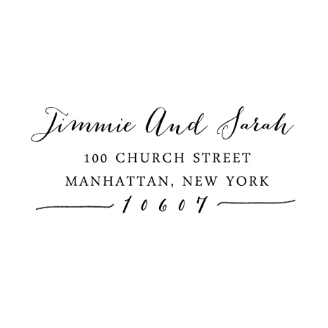 Image Unavailable Not Available For Color Custom Save The Date Wedding Invitation Rubber Stamp