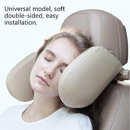winnerruby Car Seat Headrest Pillow,Autositz Kopfst/ütze Nacken Kissen U-f/örmiges Nackenkissen Reise Auto Schlafkissen Kissen F/ür Kinder Erwachsene