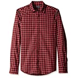 Antony Morato Men's Long Sleeve Shirt, Red, 54 EU