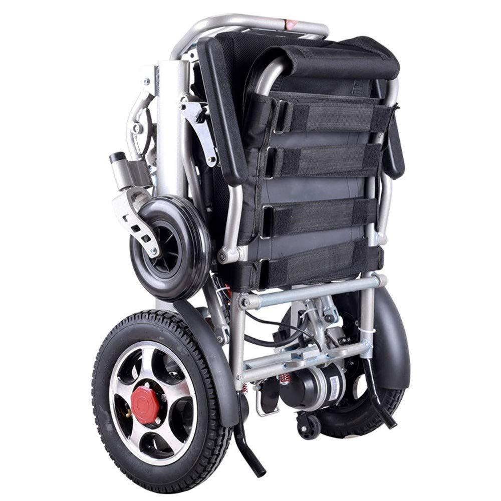 Sillas electricas Plegables Andador Cuatro Ruedas con Motor Doble ...