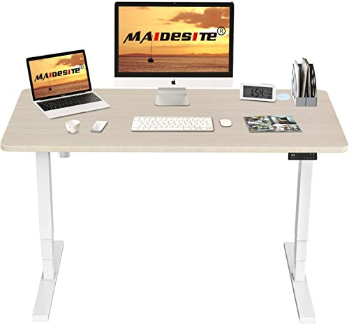 MAIDeSITe 3-Stage Electric Height Adjustable Standing Desk