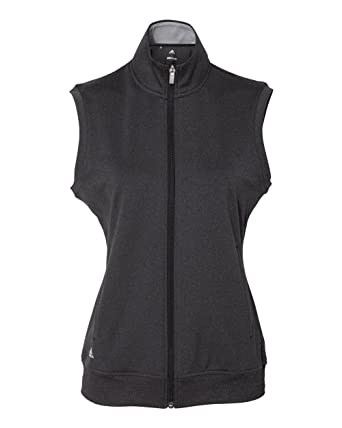 6e675bba7e89a Amazon.com: adidas A272 Women's Full-Zip Club Vest: Clothing