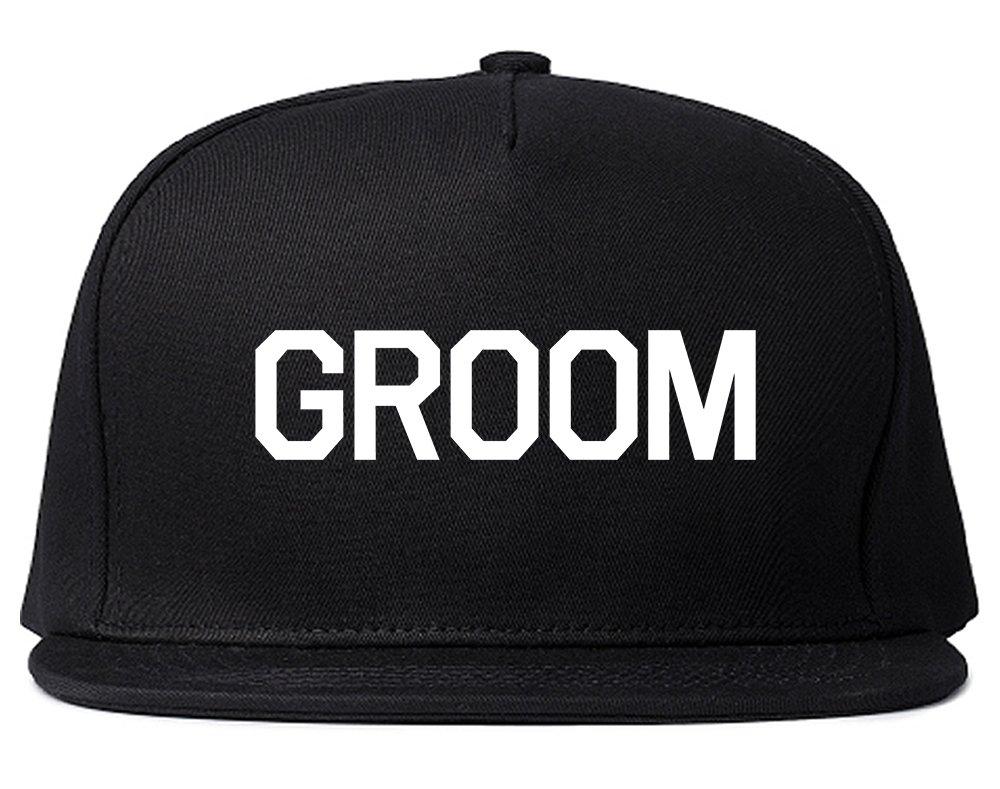 The Groom Bachelor Party Snapback Hat Cap Black