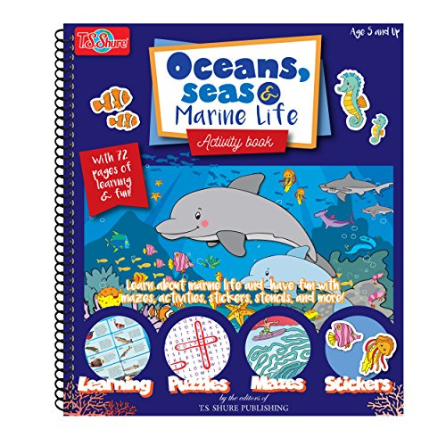 - T.S. Shure Oceans Seas and Marine Life Activity Book