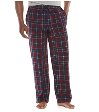Croft Barrow Mens Patterned Brushed Fleece Lounge Pants Pajama Impressive Mens Patterned Pants