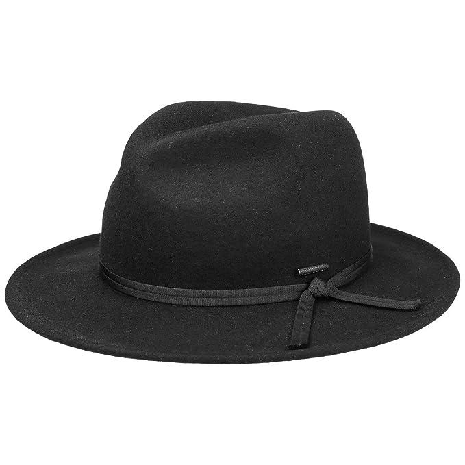 Stetson Sombrero de Fieltro Carlson Fedora by hombresombrero Hombre  Amazon. es  Ropa y accesorios 845a2396948