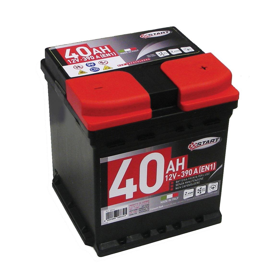 Start L0 Batteria Auto 40AH 390A 12V