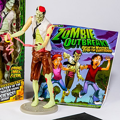 The Inhuman Squishy Zombie toy is a weird kids toy but is also educational