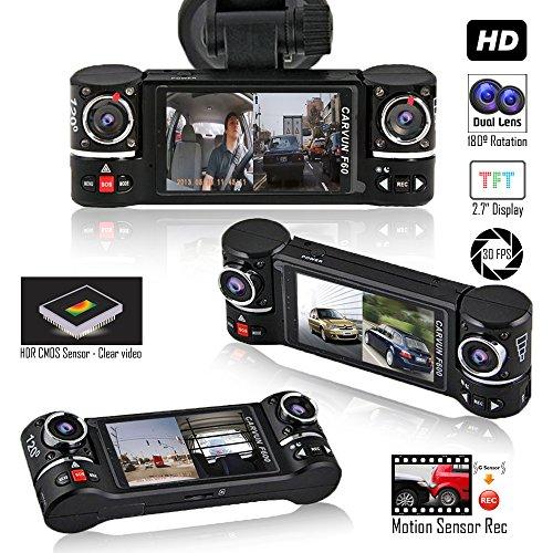 Indigi Dash Cam 2.7-inch HD TFT Display - Driving Vehicle Re