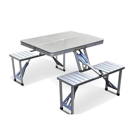 Amazon.com: GJH - Juego de mesa de picnic plegable de ...