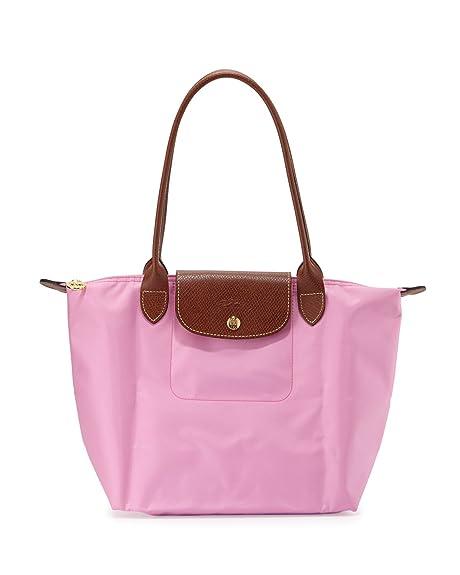 diseño de moda Reino Unido material seleccionado Longchamp Medium Le Pliage Shoulder Bag Pink Handbag Bag ...