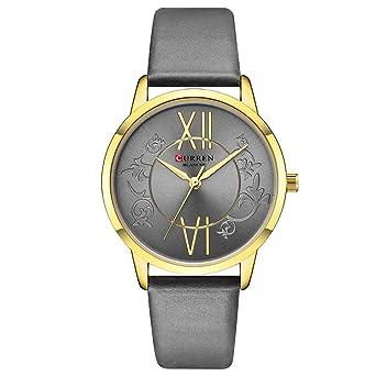Amazon.com: Fashion Creative Analog Quartz Wrist Watch Reloj ...
