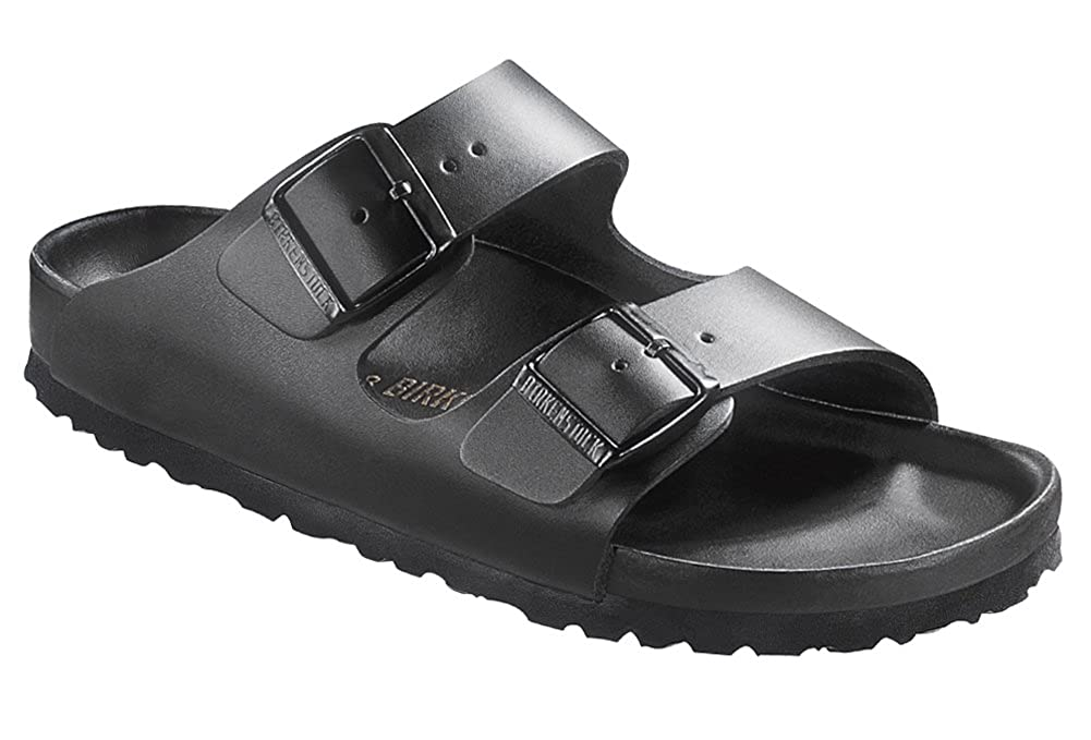 9a3e950f7509 BIRKENSTOCK Womens Monterey Sandal Exquisite Black Leather Size 39 M (8-8.5  M US Women)  Amazon.de  Schuhe   Handtaschen