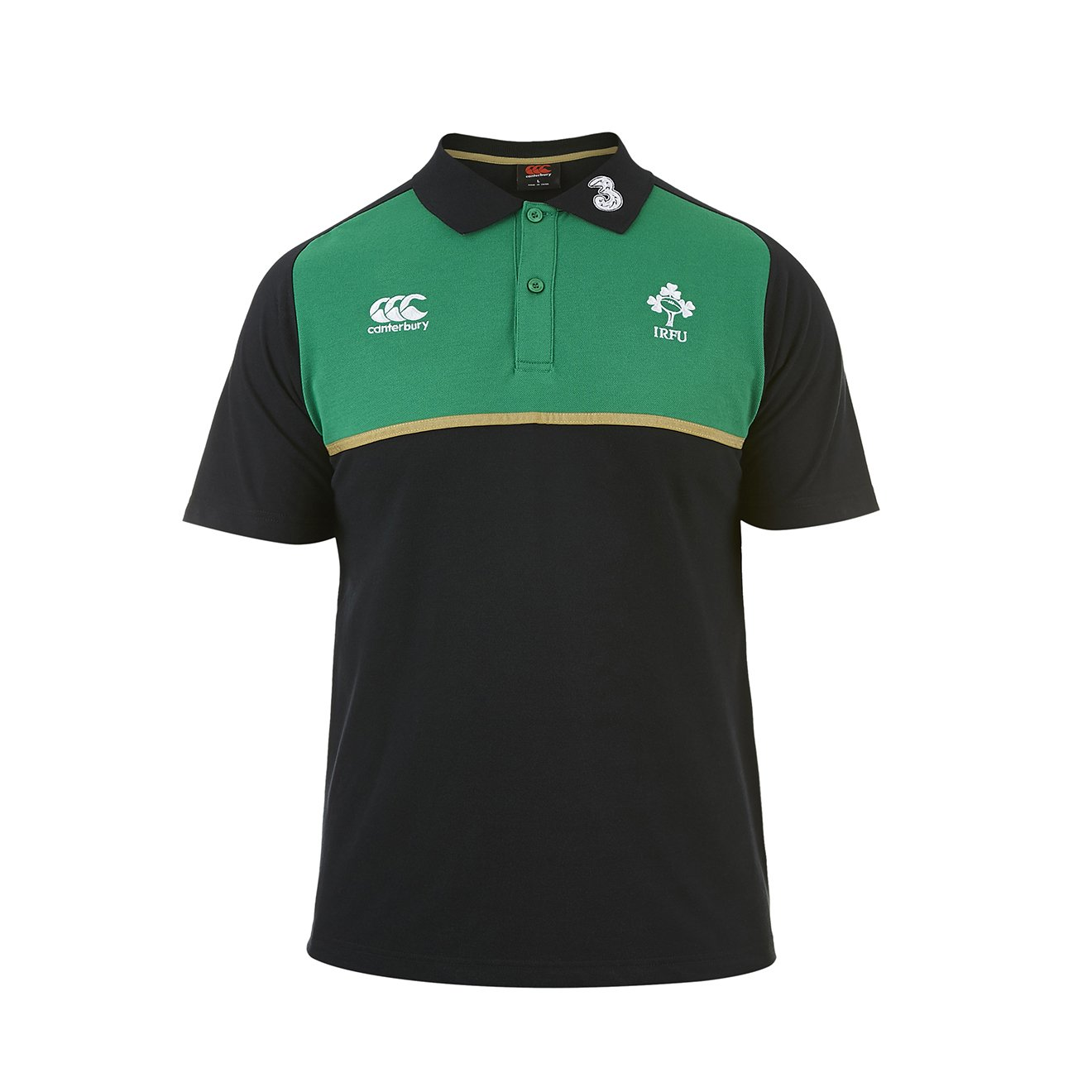 Canterbury Ireland IRFU Cotton Training Polo 6 Nations 2016 ...