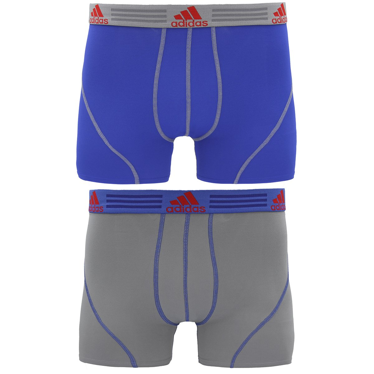 566d0e460673 Galleon - Adidas Men s Sport Performance Climalite Trunk Underwear (2  Pack)