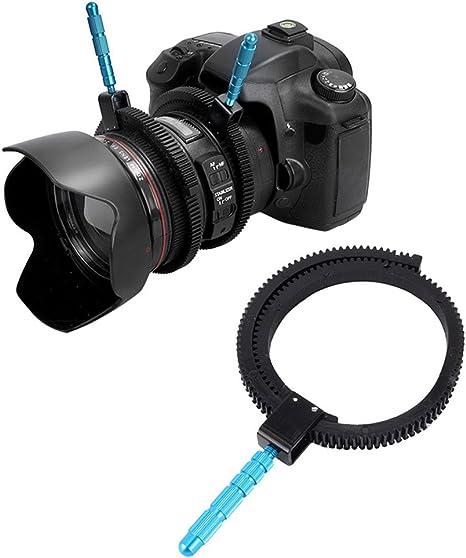 Anillo de engranaje de 52 mm a 86 mm para lente de seguimiento con ...