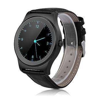 NeeCoo V3 - Smartwatch Pulsera Inteligente para Móvil Android y IOS (Bluetooth 4.0, Ritmo Cardíaco, Recordatorio de Llamada / SMS, Recordatorio ...