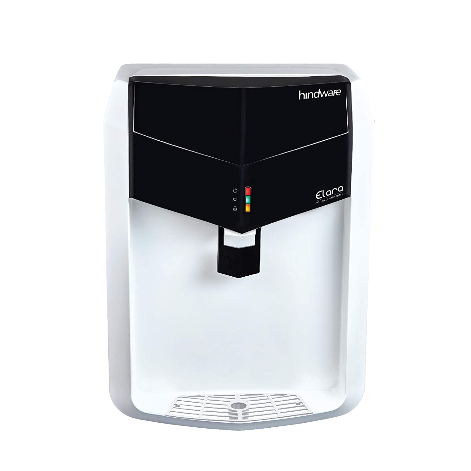 Hindware Elara RO+UV+UF+Mineral Water Purifier (White and Black)