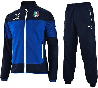 PUMA Italia Leisure Entrenamiento Jr.Suit/Italia Niños Chándal para ...