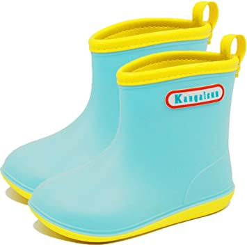 6afc9eb59fd1a Vine 子供用 レインブーツ 雨靴 レインシューズ 女の子 男の子 幼児 小学生 キッズ 可愛い長靴 軽量