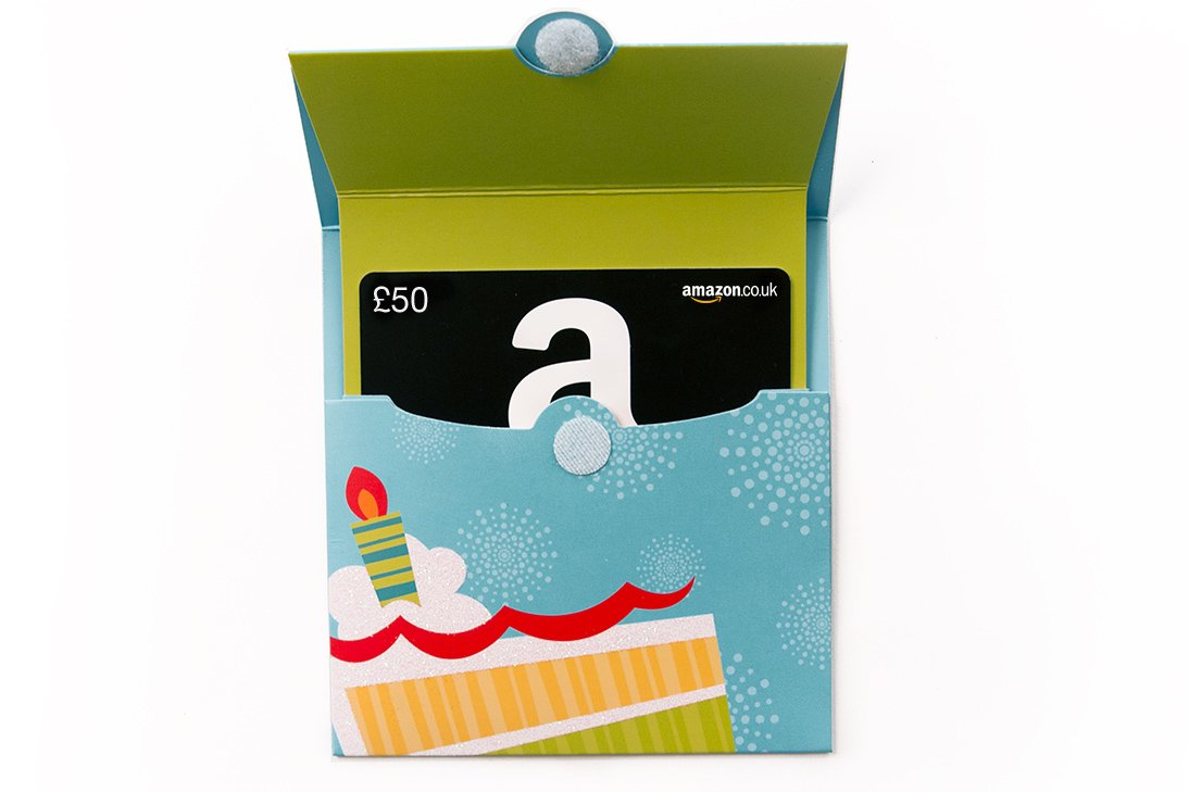 Amazon.co.uk Gift Card - Birthday Reveal - FREE One-Day Delivery