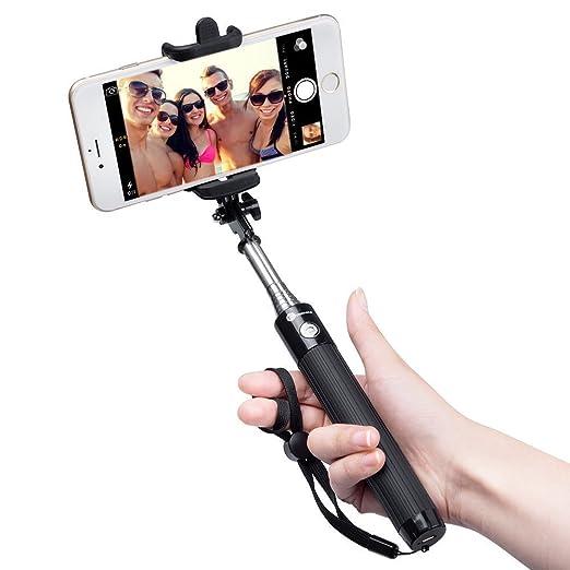 586 opinioni per Bastone Selfie Bluetooth TaoTronics Selfie Stick di Alta Qualità con Asta