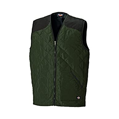 Quilted uk Clothing co Zip Amazon Full Arbour Bodywarmer Mens Dickies xqwzgx