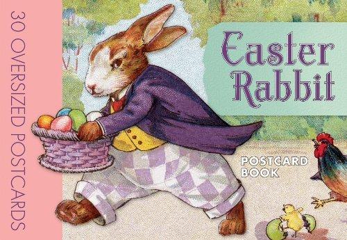 Easter Rabbit Postcard Book (2014-02-01)