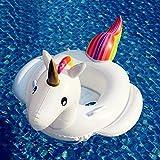 Unicornio Hinchable Colchonetas Piscina, Flotador Unicornio Piscina