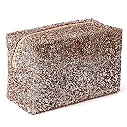Accessories Makeup Bag In champagne Sequins