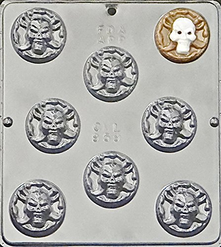 Pirate Coin Chocolate Candy Mold Halloween 959